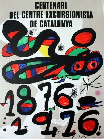 Affiche Miró - Centenari del Centre Excursionista de Catalunya