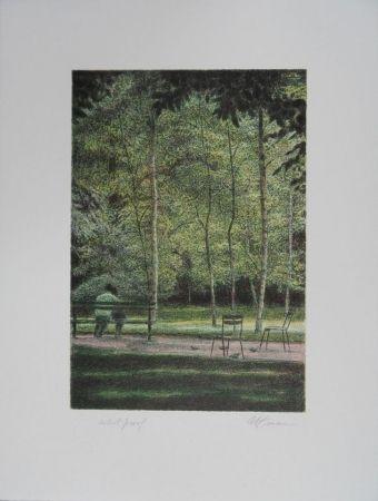 Aucune Technique Altman - Central Park - A quiet place
