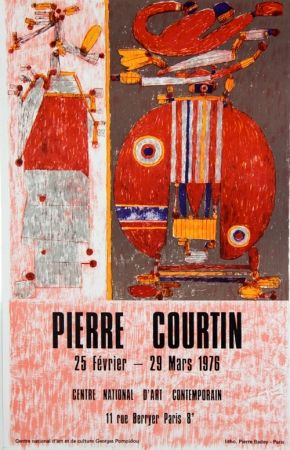 Lithographie Courtin - Centre National D'Art Contemporain