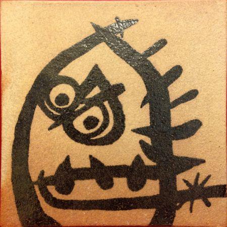 Céramique Miró (After) - Ceramic
