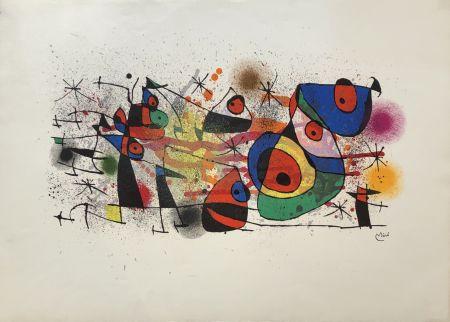 Lithographie Miró - Ceramiques