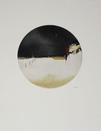 Eau-Forte Et Aquatinte Beeri - Cercle crépusculaire / Twilight Circle