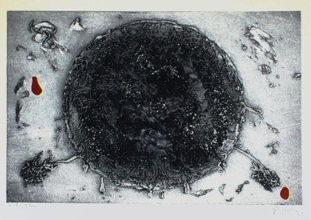 Eau-Forte Et Aquatinte Argimon - Cercle negre
