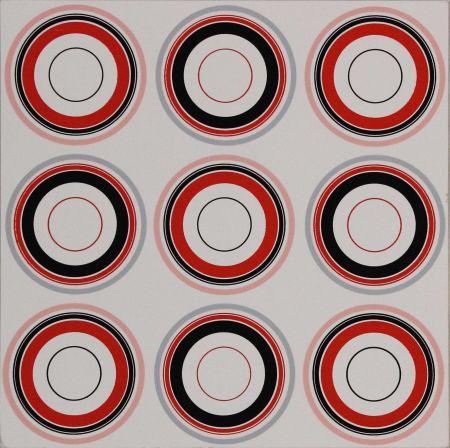 Sérigraphie Asis - Cercles
