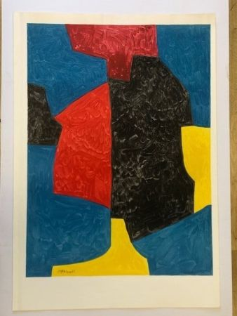 Affiche Poliakoff - Ch. sorlier grav. lith.