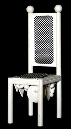 Lithographie Del Pezzo - Chair