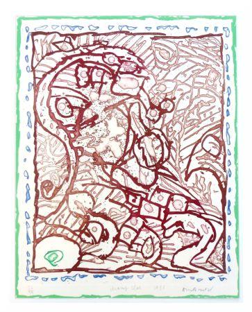 Lithographie Alechinsky - Champ clos