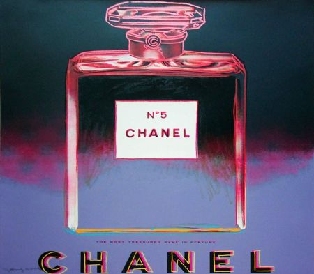 Sérigraphie Warhol - Chanel FS (II.354)