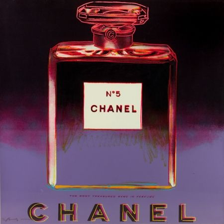 Sérigraphie Warhol - Chanel (II.354)