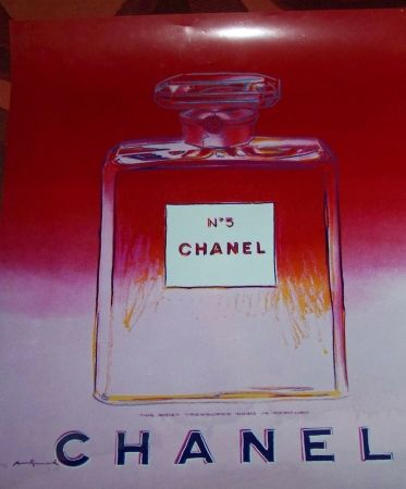 Multiple Warhol - Chanel no 5 rouge