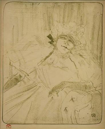 98eaf19d83e Lithographie Toulouse-Lautrec - Chanson Ancienne