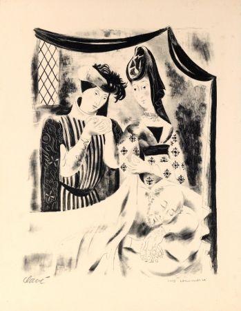 Lithographie Clavé - Chansons du Paseé