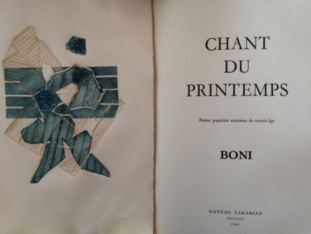 Livre Illustré Boni - Chant du Printemps - Poème populaire arménien -
