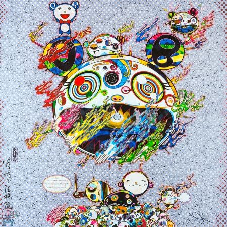 Lithographie Murakami - Chaos