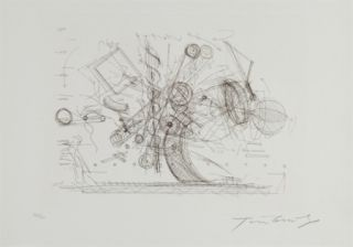 Gravure Tinguely - Chaos