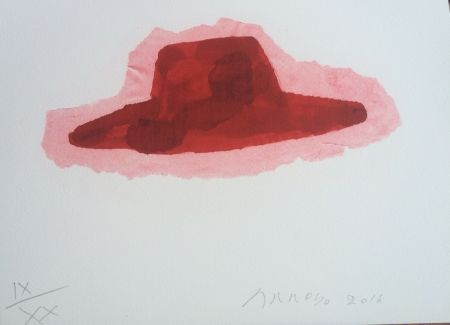 Lithographie Arroyo - Chapeau
