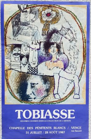 Offset Tobiasse - Chapelle des Penitents Blancs Vence
