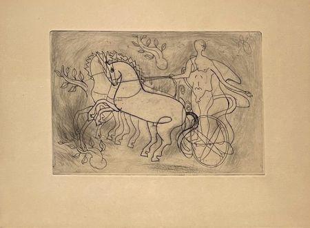 Gravure Braque - Char