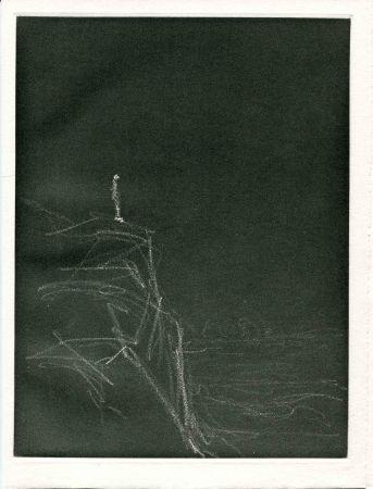 Eau-Forte Giacometti - CHAR (René). Retour Amont.