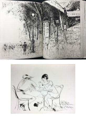 Livre Illustré De Segonzac - Charles-Louis Philippe : BUBU DE MONTPARNASSE. Avec dessin original et suites (1929).
