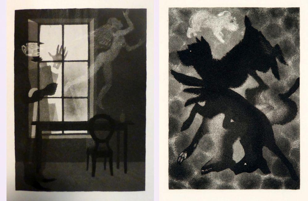 Livre Illustré Alexeïeff - Charles Baudelaire : PETITS POÈMES EN PROSE. Eaux-fortes d'Alexeieff (1934).