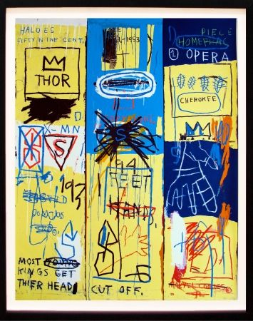 Sérigraphie Basquiat - Charles the First