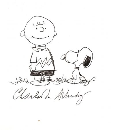 Aucune Technique Schulz - Charlie Brown and Snoopy