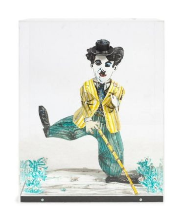 Lithographie Grooms - Charlie Chaplin