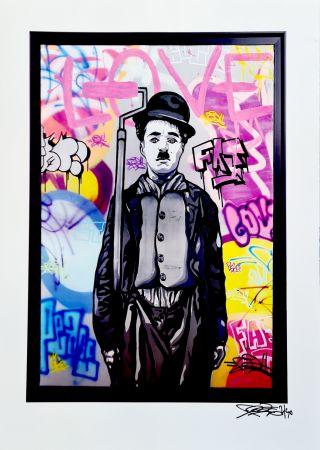 Affiche Fat - Charlie Chaplin I Print