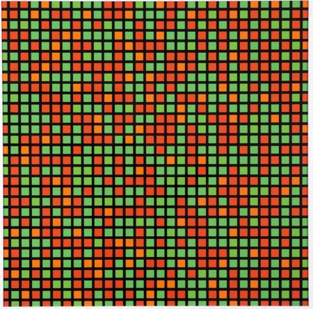Multiple Morellet - Chartres - vert orange