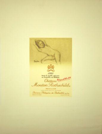 Offset Balthus - Chateau Mouton de Rothschild