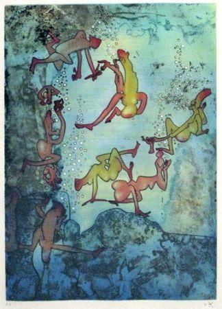 Gravure Matta - Cherche Eve (1971)