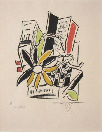Sérigraphie Leger - Chevreuse Août - 1951