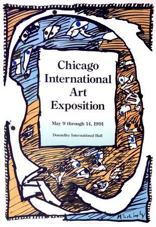 Affiche Alechinsky - Chicago International Art Exposition