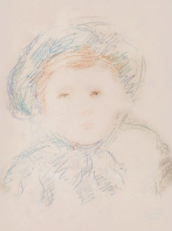 Aucune Technique Cassatt - Child in a Bonnet