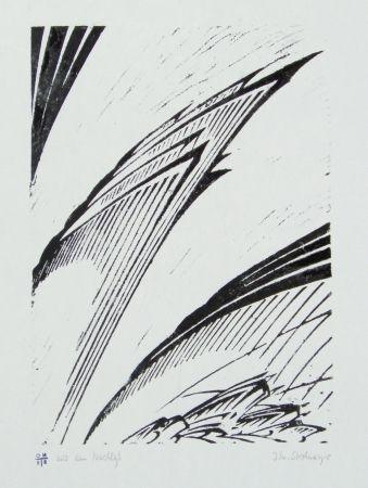 Linogravure Strohmeyer - Chilehaus (