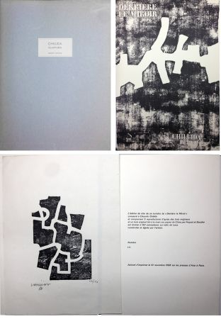 Livre Illustré Chillida - CHILLIDA SCULPTURES. Derrière Le Miroir n° 174. Nov. 1968. TIRAGE DE LUXE SIGNÉ.