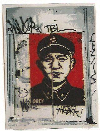 Sérigraphie Fairey - Chinese San Francisco
