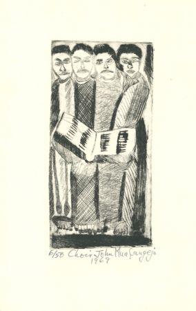Gravure Muafangejo - Choir