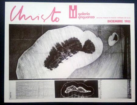 Affiche Christo - Christo - Galeria Ynguanzo 1983
