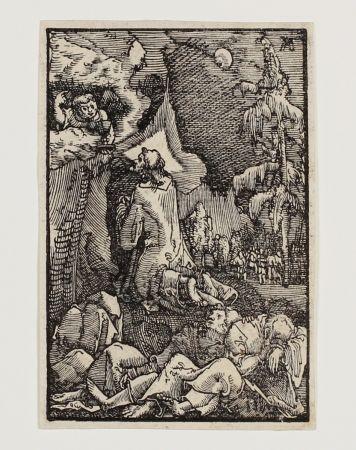 Gravure Sur Bois Altdorfer - Christus am Ölberg (Christ on the Mount of Olives)