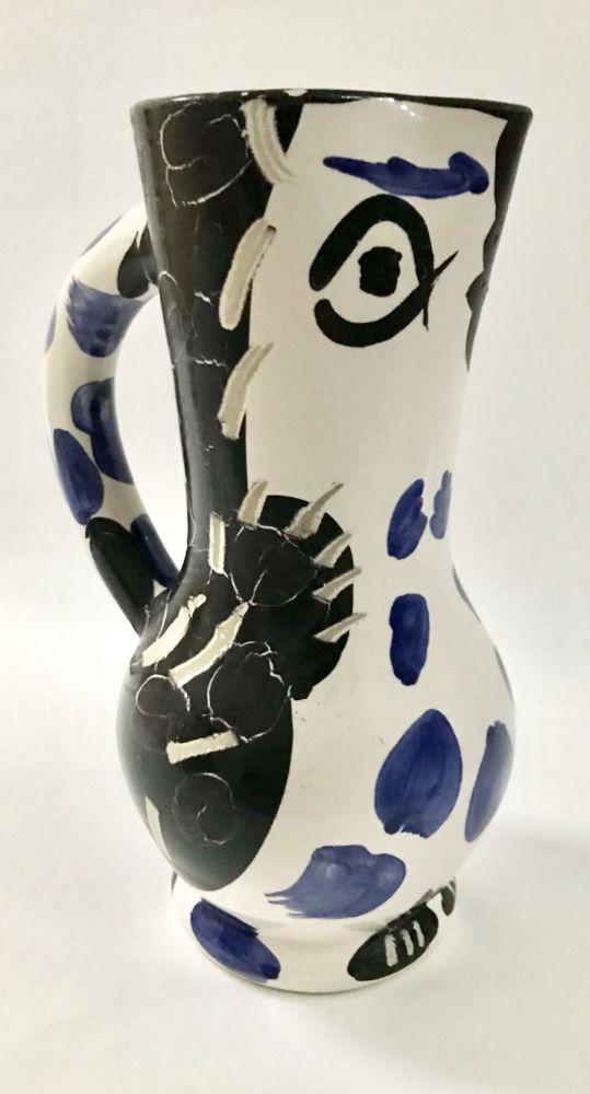 Céramique Picasso - Chruchon Hibou