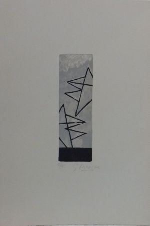 Lithographie Braque -