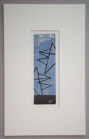 Lithographie Braque (After) - Ciel Gris II.
