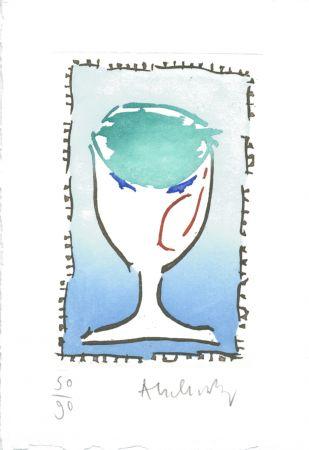 Gravure Alechinsky - Cigüe