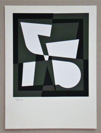 Sérigraphie Vasarely - Cingsha