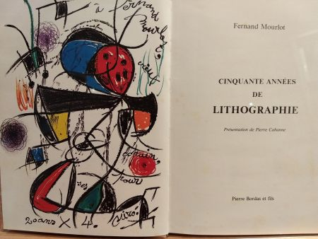 Livre Illustré Miró (After) - Cinquante annees De lithographie