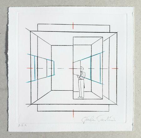 Gravure Paolini - Cinque esercizi di stile (tav. B)