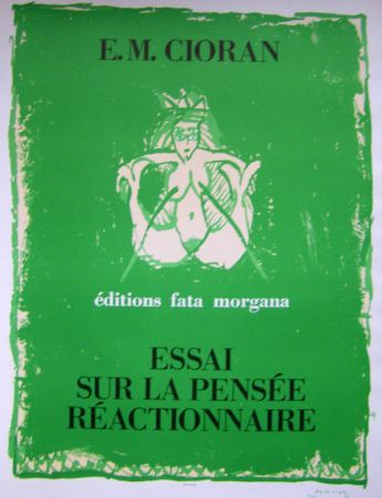 Affiche Alechinsky - Cioran