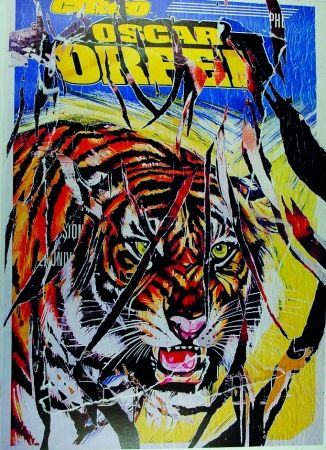 Sérigraphie Rotella - Circo Orfei